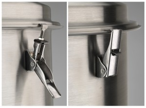 Lid clamping option (Click image to enlarge)