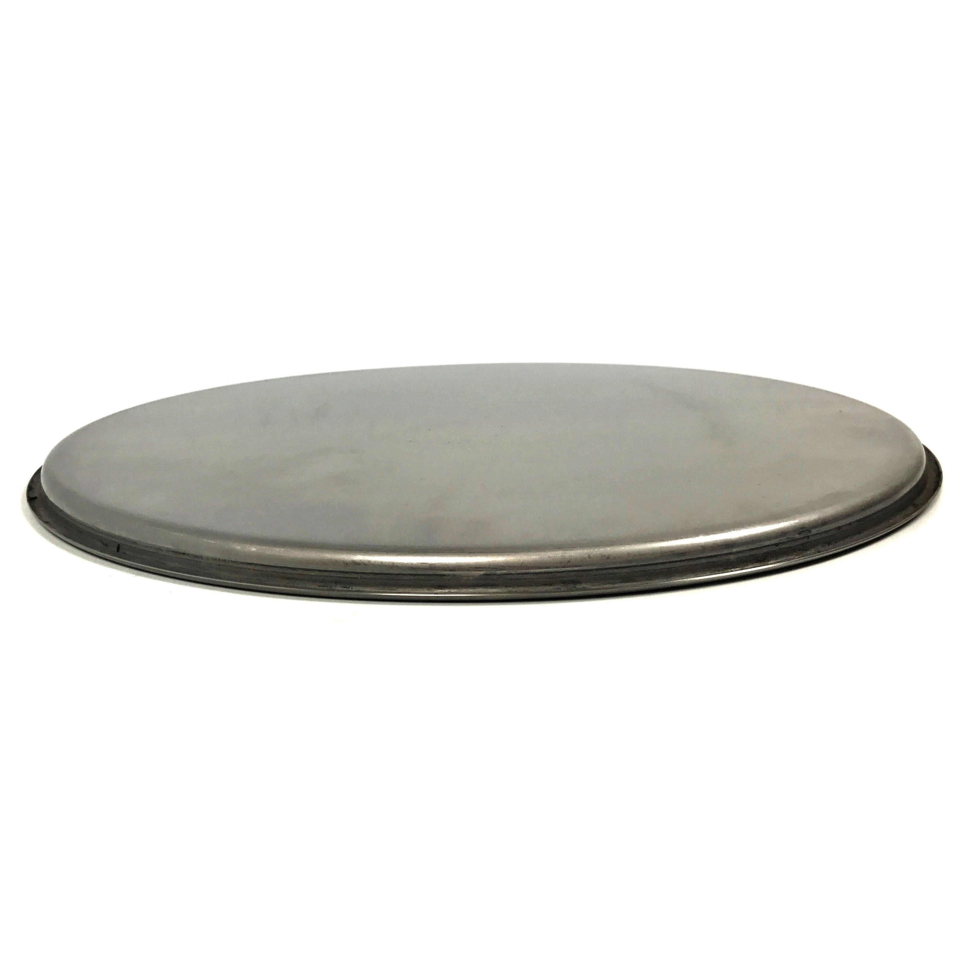 """15"""" Stainless Steel Lid With Beaded Lip"""