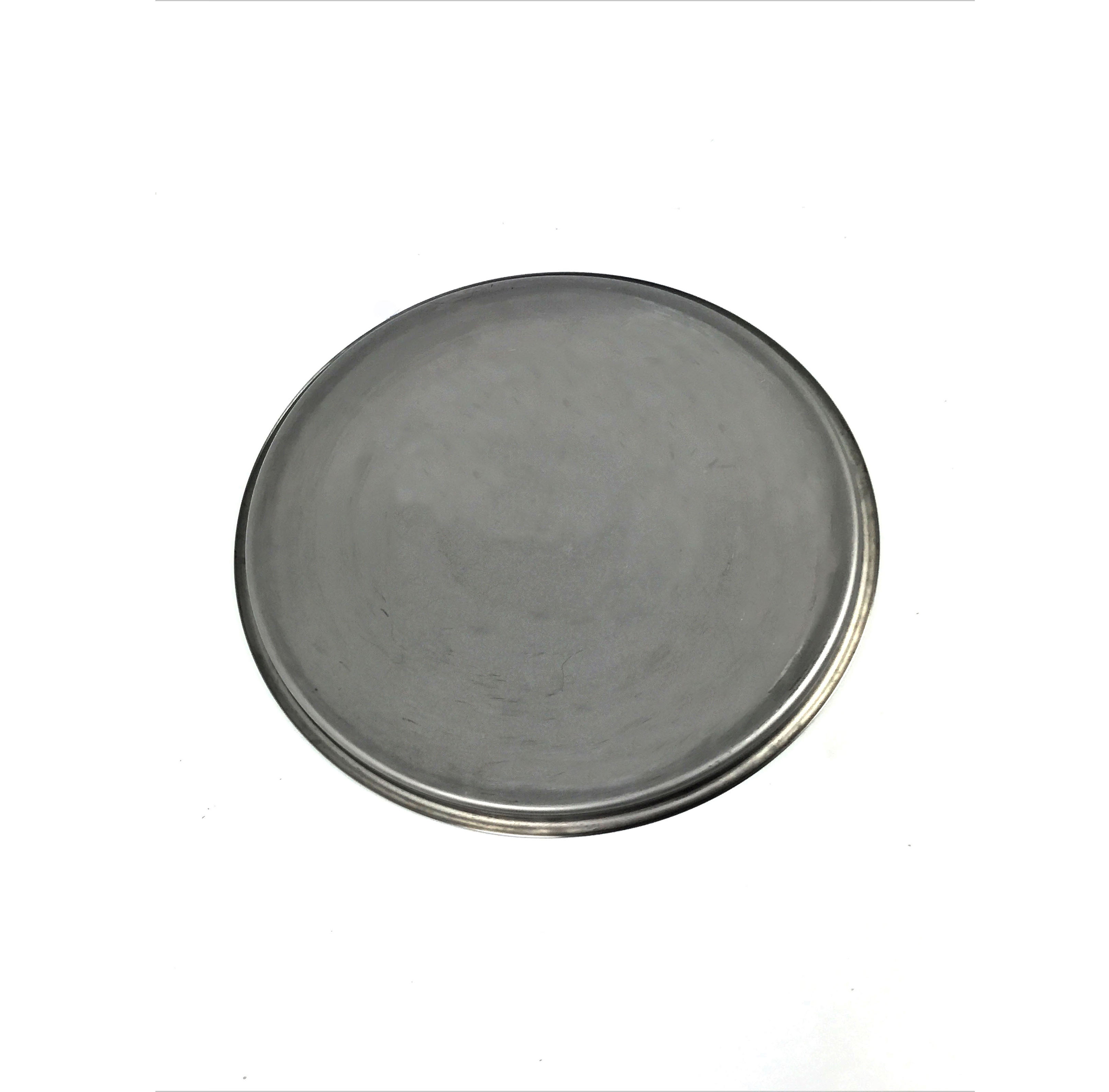 316 Stainless Steel Lid With Beaded Lip