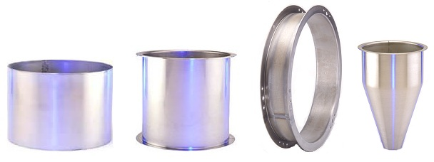 TMS - Rolled, Welded, Flanged, and Spun Cylinders - Stainless Steel