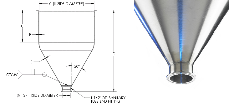 Sanitary-Hopper-graphic 1.5 in fitting 2