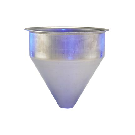 SS304 Seamless Hopper, 1.5 Gallon, 8.85 Inch Diameter