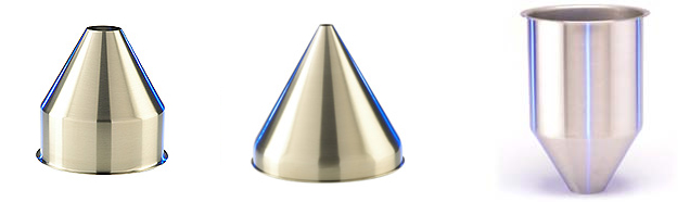 Mirror finish metal polished products